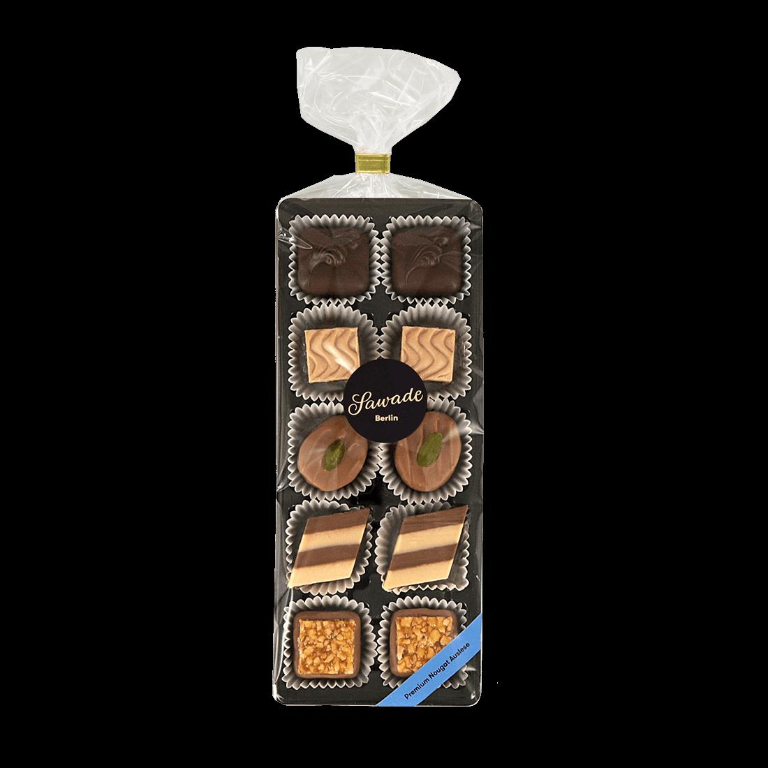 SAWADE | Feinste Pralinen »Premium Nougat Auslese« 105g