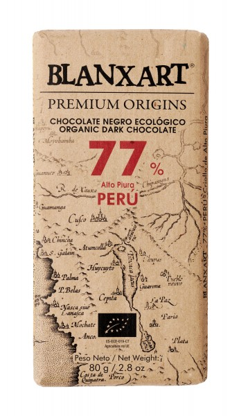 BLANXART   Schokolade Alto Piura »PERU« 77% - 80g