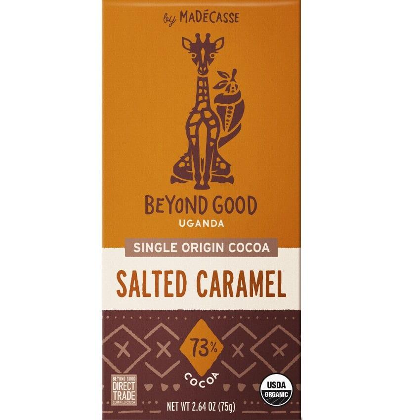 BEYOND GOOD by Madécasse »Salted Caramel« 73% MHD 11.11.2021