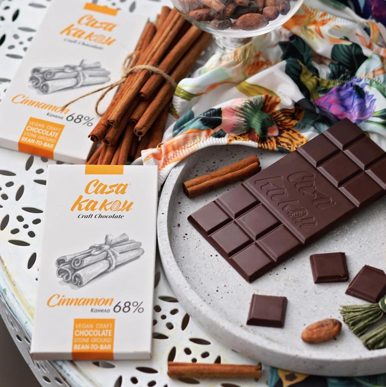 CASA KAKAU | Dunkle Schokolade & Zimt »Cinnamon«