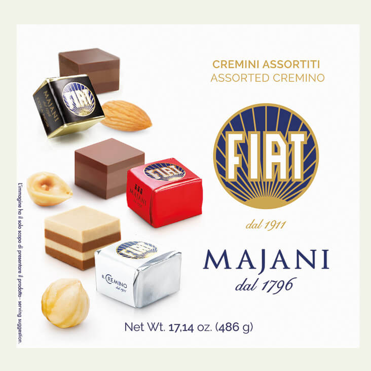 MAJANI | Cremino Mix-Packung mit 48 Stück »FIAT-Cremini-Mix«