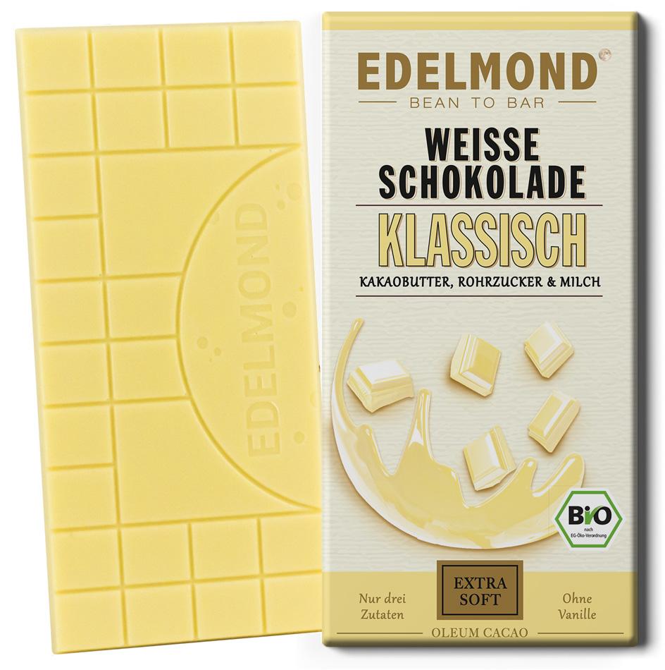 EDELMOND | Weiße Schokolade »Klassisch« 40% | BIO