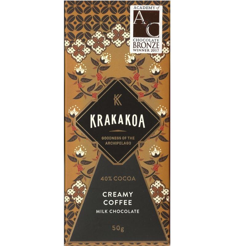 KRAKAKOA   Milchschokolade & Creamy »Coffee« 40%