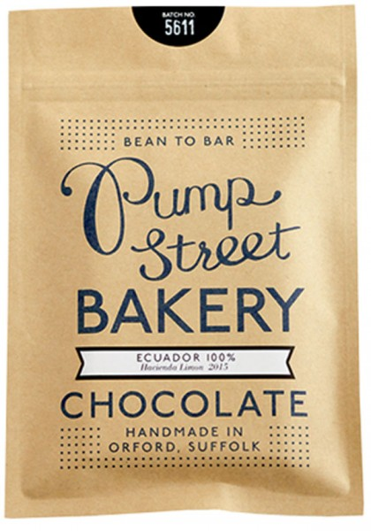 PUMP STREET BAKERY Schokoladen l »Ecuador« Kakaomasse 100%