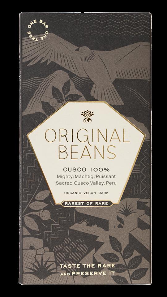 ORIGINAL BEANS Schokoladen | Cusco »Chuncho« Kakaomasse 100% BIO