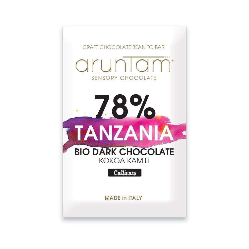 ARUNTAM | Dunkle Schokolade »Tanzania« Kokoa Kamili 78%