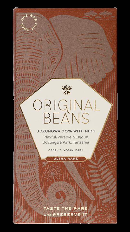 ORIGINAL BEANS | Schokolade & Nibs »Cru Udzungwa« 70% BIO