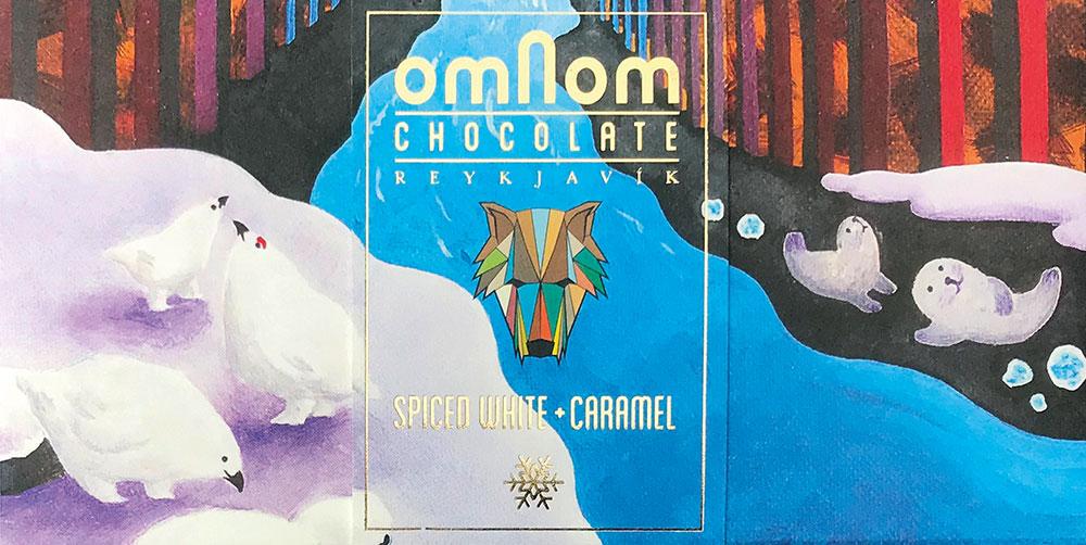 OMNOM Chocolate   Weiße Schokolade »Spiced White & Caramel« NEU