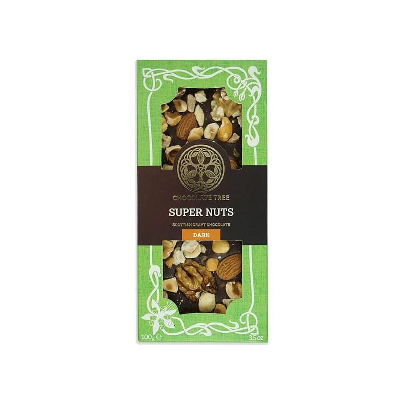 CHOCOLATE TREE | Schokolade »Super Nuts« 70%