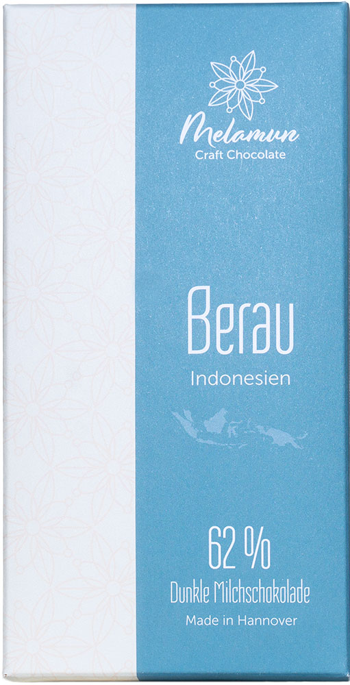 MELAMUN   Milchschokolade »Berau - Indonesien« 62%