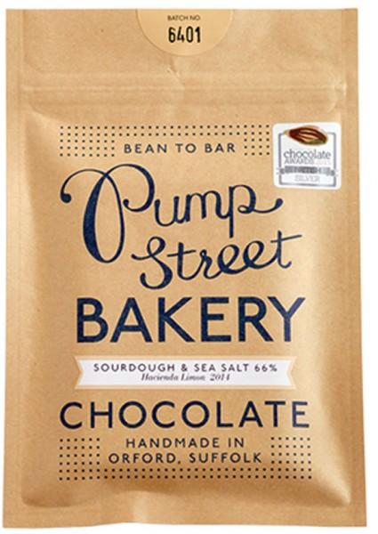 PUMP STREET BAKERY   Schokolade »Sourdough & Sea Salt« 66%