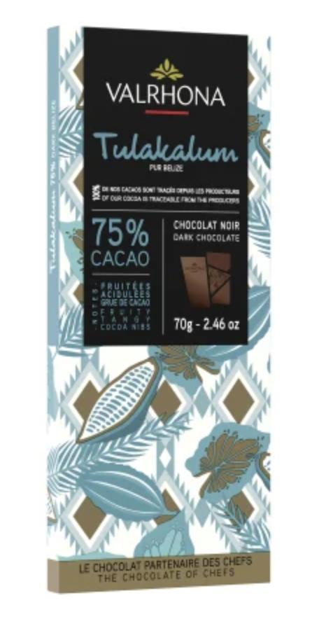 VALRHONA   Dunkle Schokolade »Tulakalum« 75%