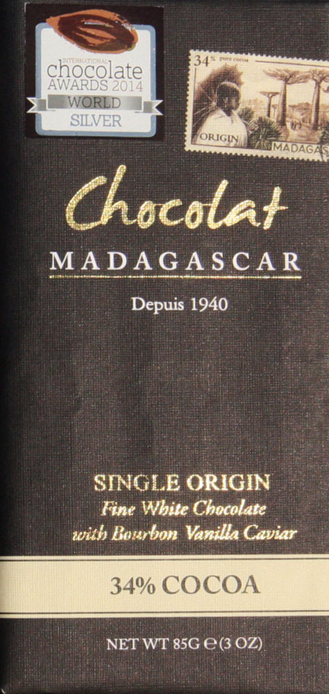 Chocolat MADAGASCAR Schokoladen | »Madagascar« Kakaomasse 100%