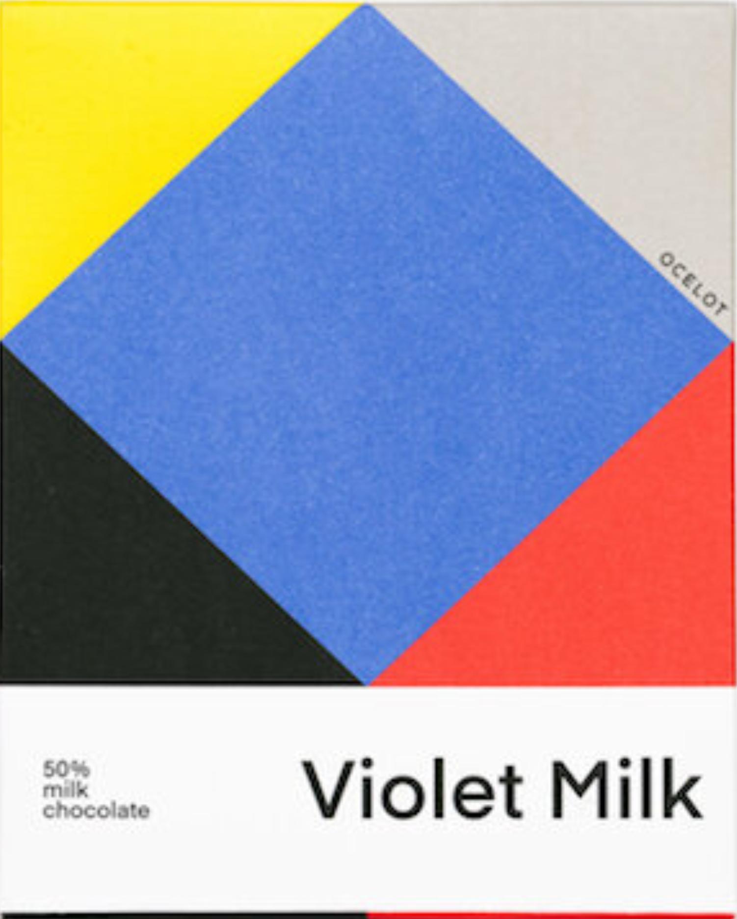 OCELOT | Milchschokolade »Violet Milk« 50% MHD 9.12.2021