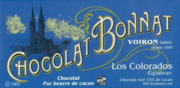 BONNAT Dunkle Schokolade | Chocolat »Los Colorados« 75%