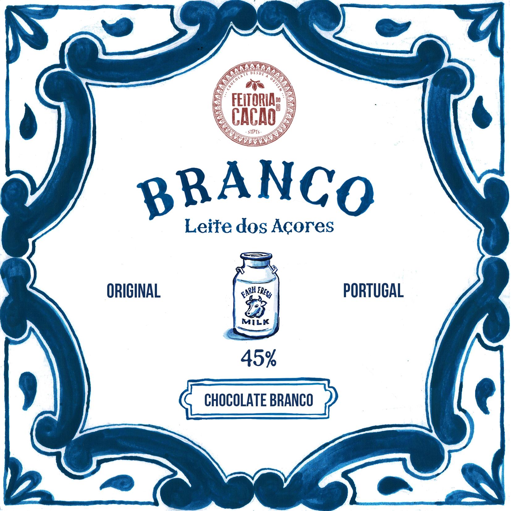 FEITORIA DO CACAO | Weiße Schokolade »Branco« 45%