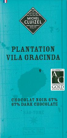 MICHEL CLUIZEL | Dunkle Schokolade «Plantation Vila Gracinda» 67%