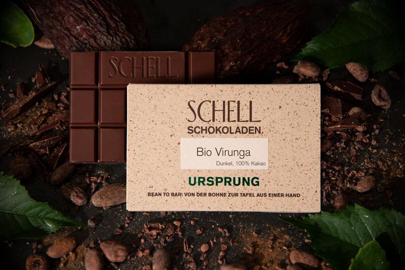 SCHELL Schokoladen | Kakaomasse »Virunga« 100% | BIO