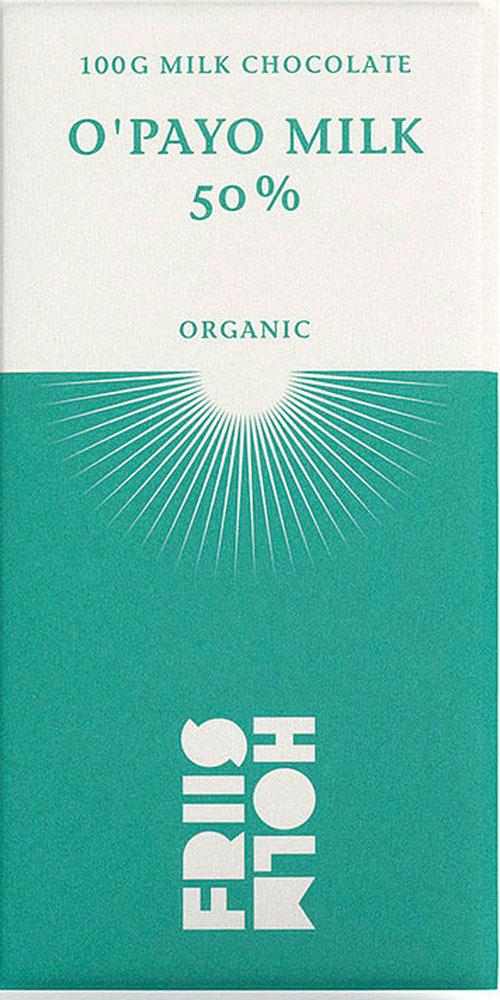 FRIIS-HOLM | Milchschokolade »O' Payo Milk« 50% | BIO