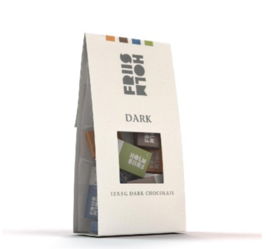 FRIIS-HOLM | Dunkle Schokolade »Dark Chocolate« 70% - 12 x 5g