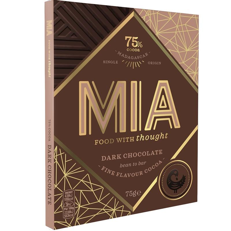 MIA | Dunkle Schokolade »Madagascar« 75%