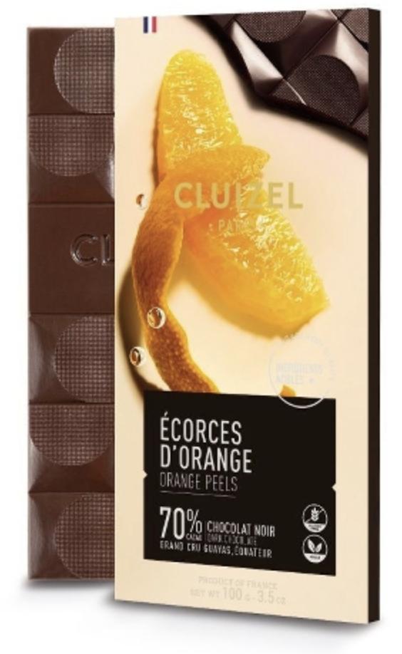 MICHEL CLUIZEL | Schokolade Noir »Écorces d'Oranges« 70%