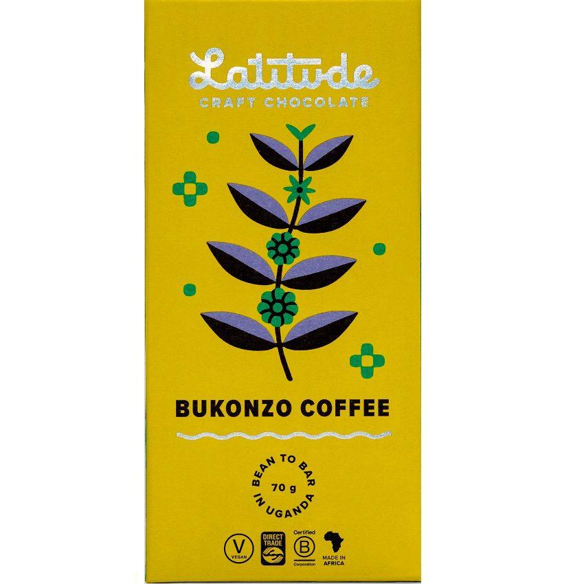 LATITUDE   Dunkle Schokolade »Bukonzo Coffee« 70%