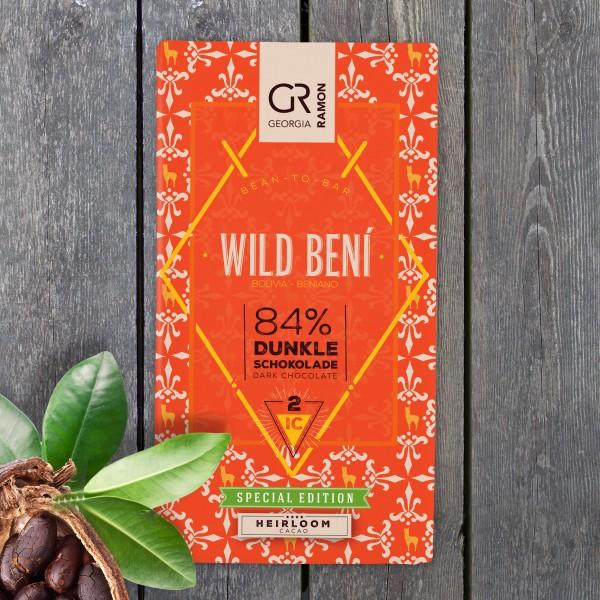 GEORGIA RAMON | Schokolade »Wild Beni« 84%