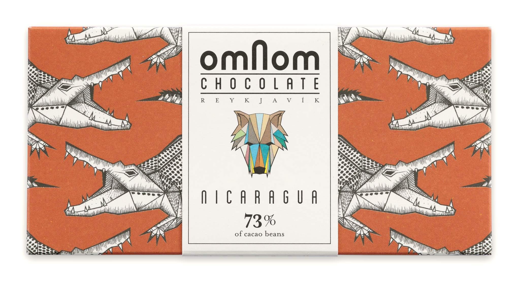 OMNOM Chocolate   Dunkle Schokolade »Nicaragua« 73%
