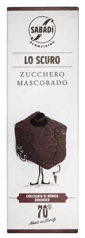 SABADI | Rohschokolade »Lo Scuro Zucchero Mascobado« 70%