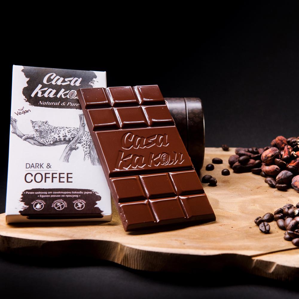 CASA KAKAU | Dunkle Schokolade »Dark & Coffee«