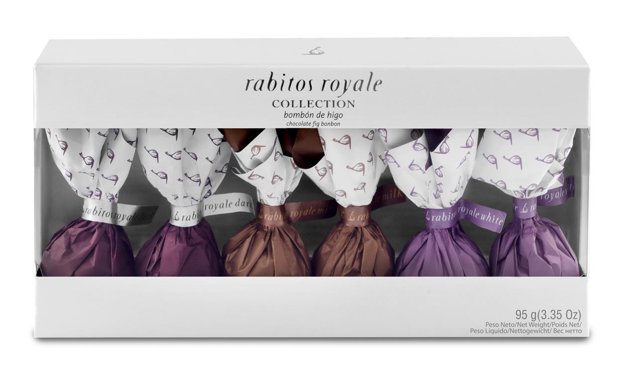 LA HIGOERA | Feigenpralinen 6er-Collection  »Rabitos Royale«