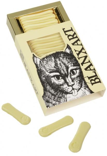 BLANXART | Weiße Schokolade »Katzenzungen« MHD 30.11.2021