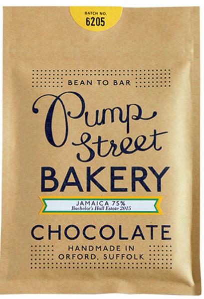 PUMP STREET BAKERY   Dunkle Schokolade »Jamaica« 75%