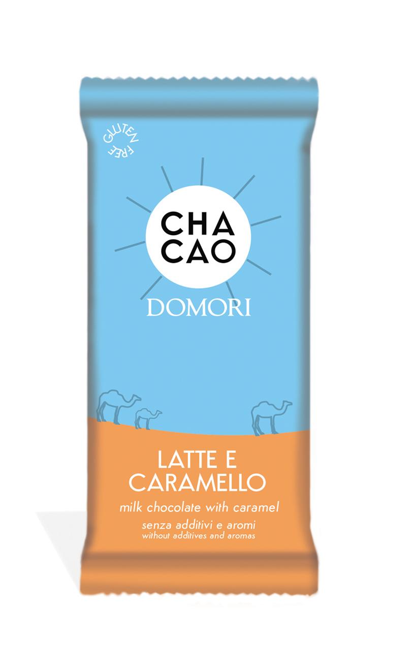 CHACAO by Domori | Milchschokolade »Latte & Caramello« 38% 50g