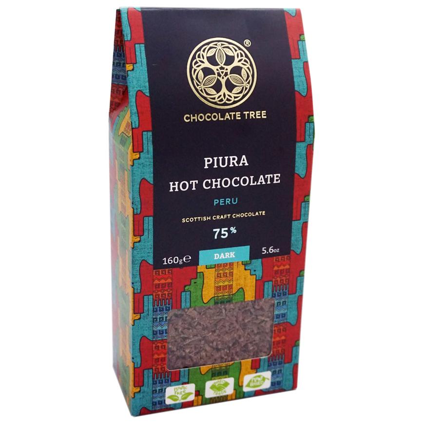 CHOCOLATE TREE | Trinkschokolade »Hot Chocolate Piura« 75%
