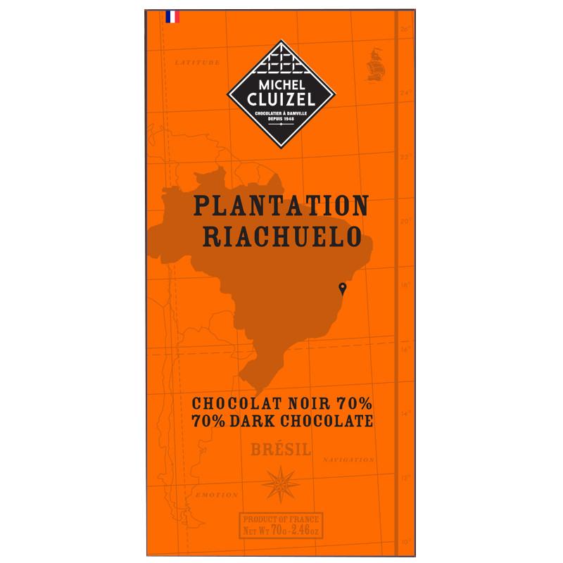 MICHEL CLUIZEL Schokolade | »Plantation Riachuelo« 70%