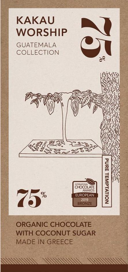KAKAU WORSHIP | Schokolade »Guatemala« 75% | BIO