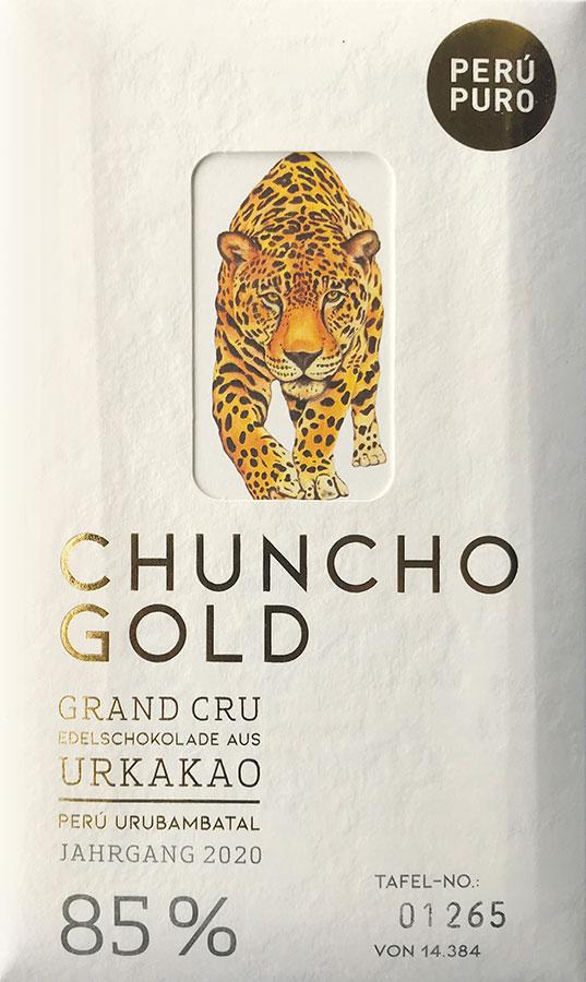 PERÙ PURO | Edelschokolade »Chuncho Gold« 85% Jahrgang 2020