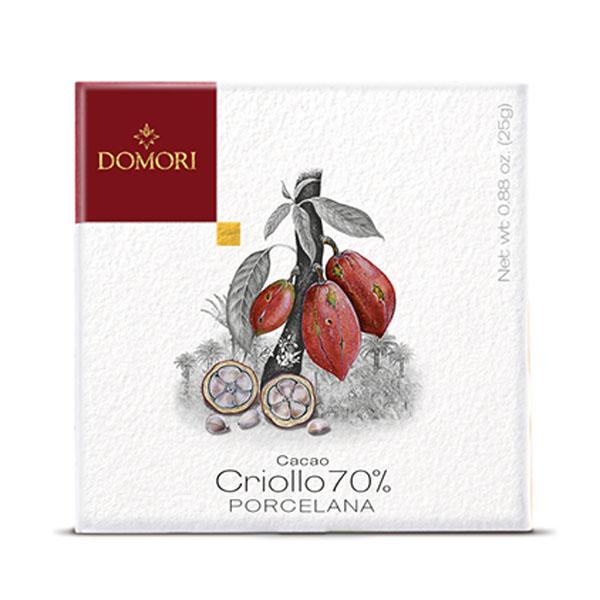 DOMORI | Dunkle Schokolade »Criollo PORCELANA« 70% Kakao 50g