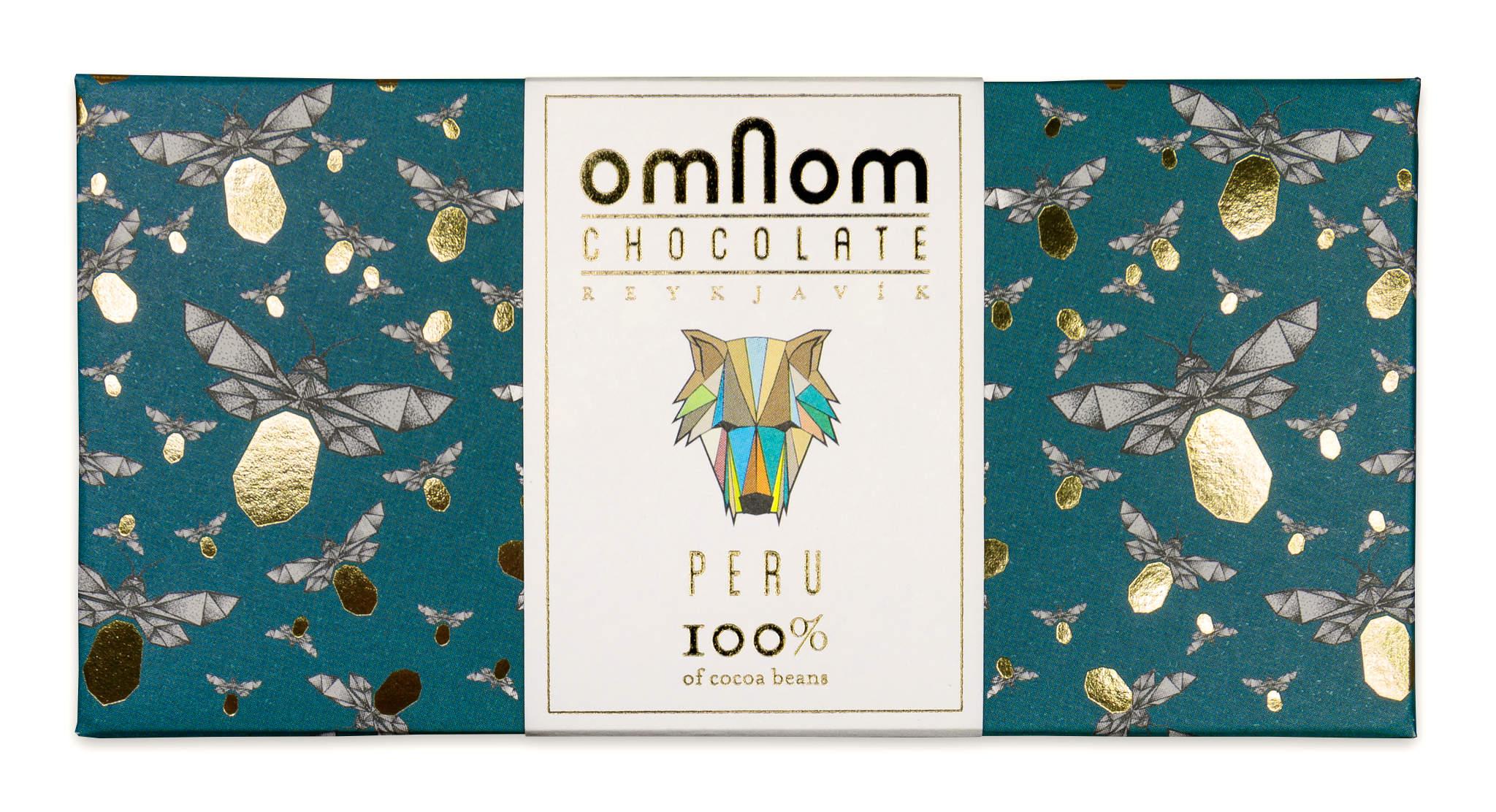 OMNOM Schokoladen | Dunkle »Peru« Kakaomasse 100%