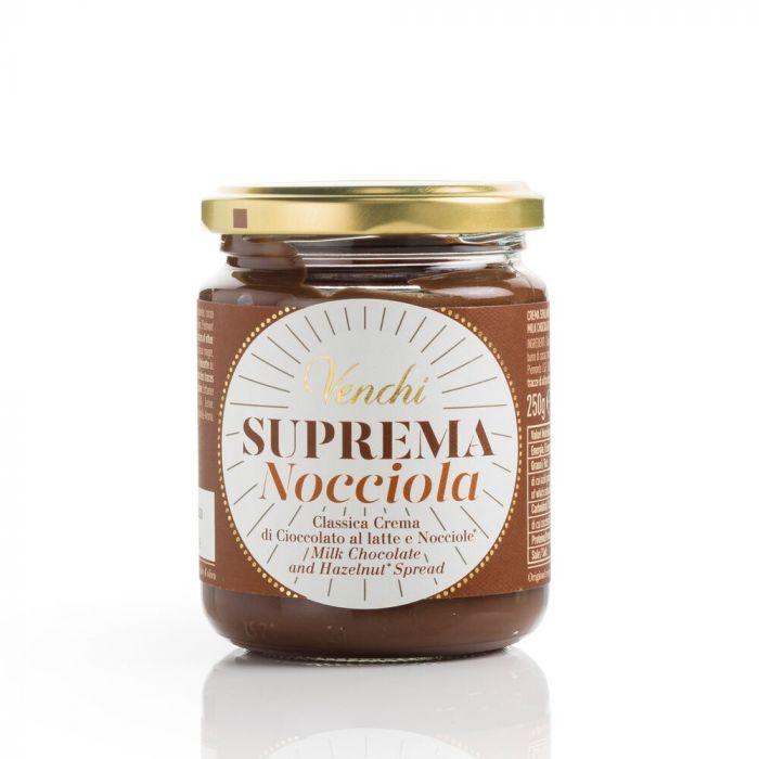 VENCHI | Schokoladen & Haselnußcreme »Suprema Nocciola« 250g