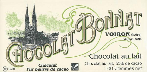 BONNAT Milchschokolade | Chocolat »au lait« 55%