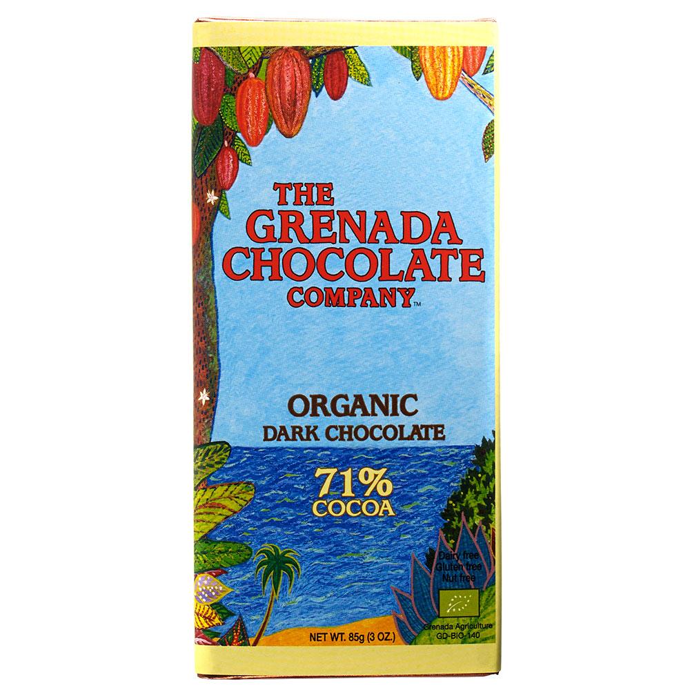 GRENADA Chocolate Company Schokolade »Grenada« 71% MHD 28.11.2021