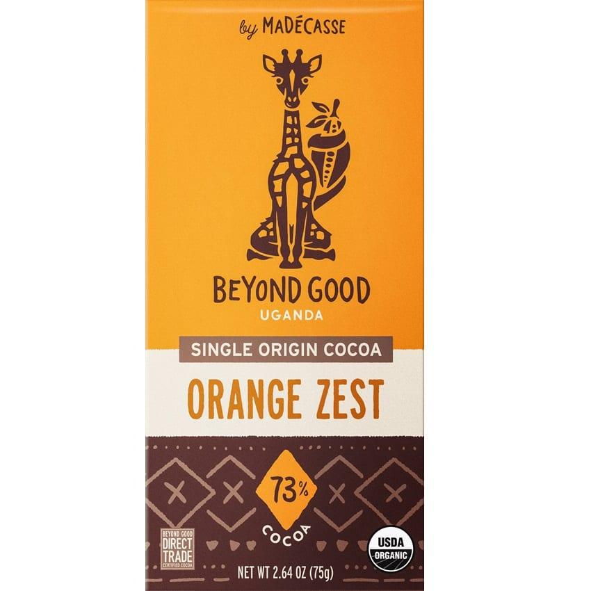 BEYOND GOOD by Madécasse | Dunkle Schokolade »Orange Zest« 73%