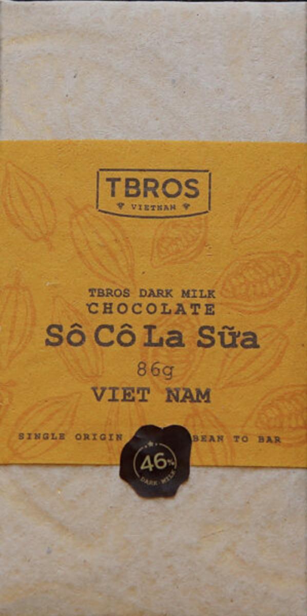 TBROS Chocolate | Milchschokolade »Vietnam - Sô Cô La Sua« 46%