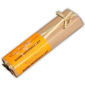 PRALUS | Barre Inferale »Lait« Schokoladenbarren mit Haselnuss