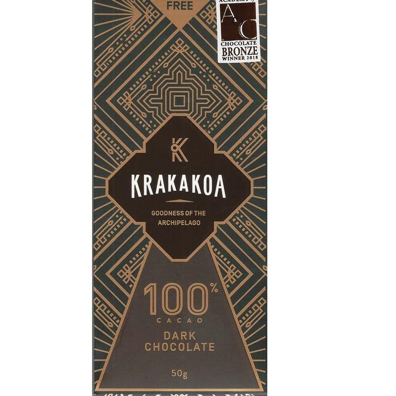 KRAKAKOA Schokolade   Kakaomasse  »Dark Chocolate Arenga« 100%