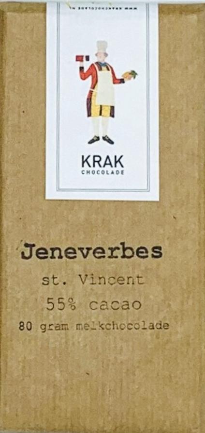 KRAK Chocolade | Milchschokolade »Jeneverbes« 55%