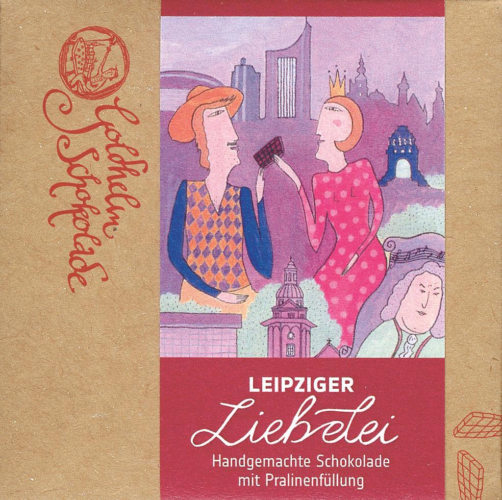 GOLDHELM | Schokolade »Leipziger Liebelei« Canache